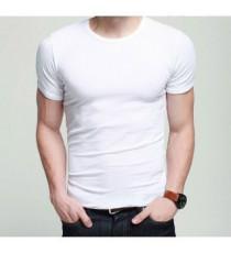 Áo thun làm mát nam tay ngắn màu trắng