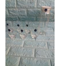 Bộ bình và 6 ly thủy tinh Luminarc