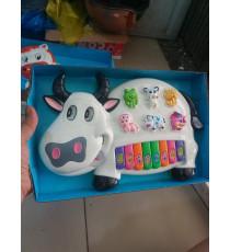 Đàn xinh cho bé hình con bò sữa quà từ Enfa