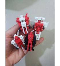 Combo 4 máy bay xoay chuyển thành robot nhí