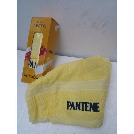 Khăn Pantene vàng kích thước 75cmx35cm