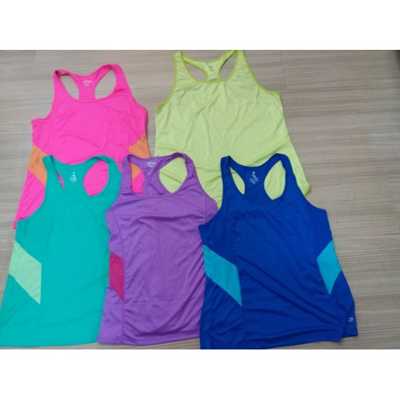 Áo 3 lỗ tập thể dục cho nữ hàng xuất dư