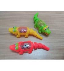 Cá sấu chạy dây cót có đèn Nuti