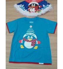 Bộ áo thun và nón Noel cho bé