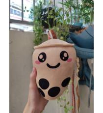 Ly trà sữa trân châu nhồi bông