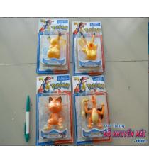 Bộ sưu tập 4 bé đồ chơi Pokemon