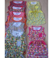 Đầm hoa bé DUMMYKIDS nhỏ