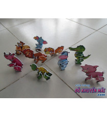 Mua từ 1tr tặng 1Set 9 con thú 3D lắp ráp