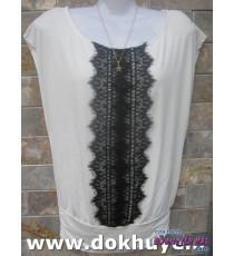 Áo thun nữ Hàn Quốc màu trắng