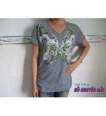 Áo thun nữ Style&Co con bướm
