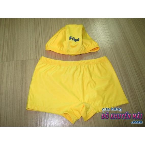 Bộ quần bơi+nón bơi cho bé Friso