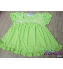 Áo thun mát bé gái Jone Newyork xanh lá
