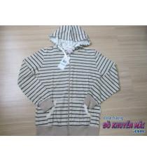 Áo khoác nữ sọc xám 120k