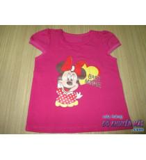 Áo thun lẻ bé in hình Baby Minnie