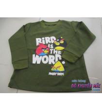 Áo tay dài cho bé thun Angry Bird sz lớn