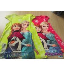 Đầm 3D tay ngắn cho bé Disney