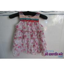 Đầm voan búp bê nhiều tầng cho bé gái