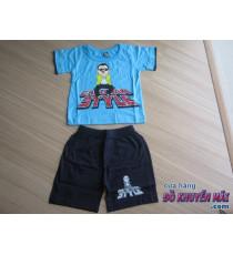 Bộ thun tay ngắn bé trai Gangnam Style sz2-3