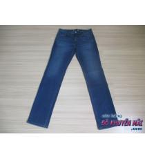 Quần jean nam xuất xịn Uni Qlo Nhật màu xanh