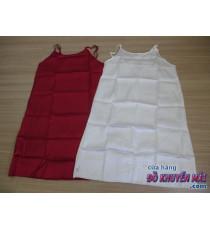 Đầm ngủ Vaseline nữ màu đỏ