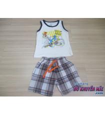 Bộ áo thun 3 lỗ+quần sọc Tom&Jerry