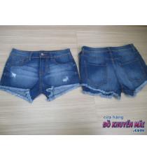 Quần jean đùi xuất Nhật cho nữ