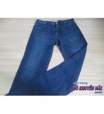 Quần jean dài cho nữ Uni Qlo xanh đậm