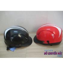 Mũ bh cao cấp X bell Romano màu đen