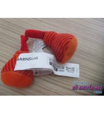 Cặp đồ chơi nhồi bông Ikea màu sọc đỏ