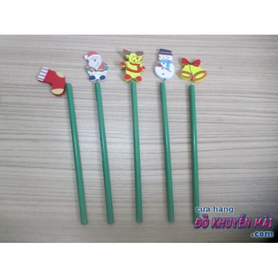 Set 6 cây bút chì đầu hình ngộ nghĩnh cho bé