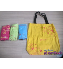 Túi xách vải bố form cao Jonhson