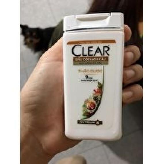 Chai dầu gội thảo dược Clear 50g HẾT DATE