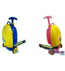 Vali và xe trượt scooter 2 in 1 Vinamilk+phí giao riêng