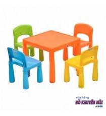Bộ 1 bàn + 4 ghế nhựa Frio
