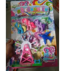 Bộ đồ chơi công viên ngựa Pony