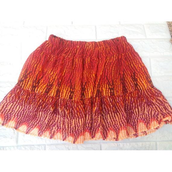 Chân váy voan mềm lưng thun nữ hàng xuất xịn đi HQ