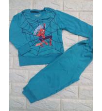 Bộ người nhện tay dài thun ấm da cá cho bé