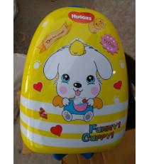 Vali nhựa có cần kéo cho bé Huggies