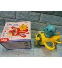 Combo 10 bộ đồ chơi gấu láy máy bay
