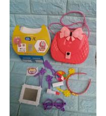 Bộ túi xách và đồ trang điểm cho bé Enfa