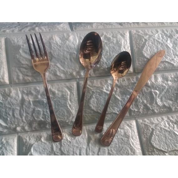 Bộ dao muỗng nĩa inox 4 món
