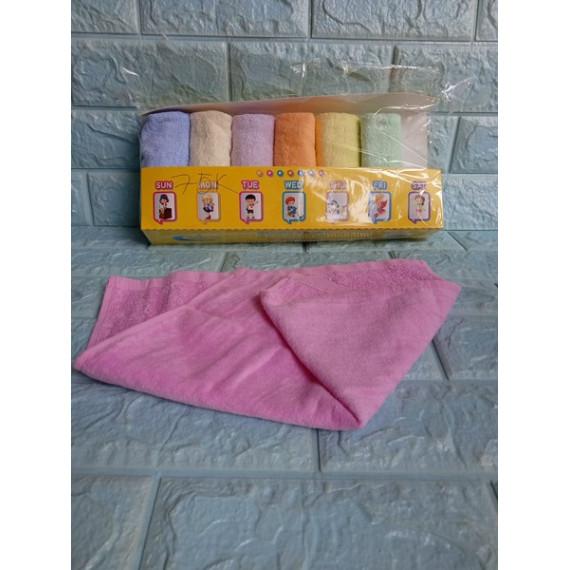 Hộp 7 khăn mặt mềm mịn cho bé
