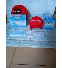 Combo nón xịn+hộp 50 khẩu trang y tế