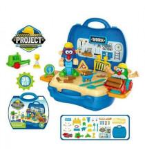 Vali đồ chơi công trình xây dựng 39 chi tiết