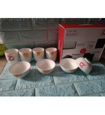 Bộ bàn ăn sứ 8 món quà từ TOSHIBA