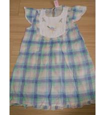 Đầm bé gái vải kate mỏng mát